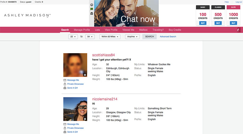 dating website Glasgow