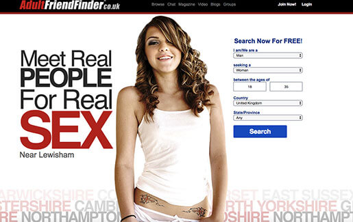 Adultfriendfinder login
